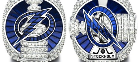 Tampa Bay Lightning's 2020 Stanley Cup Ring Sets a Jostens Record for Gem Weight