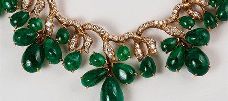 May's Birthstone: 77 Emerald 'Leaves' Sprout From This Smithsonian Necklace